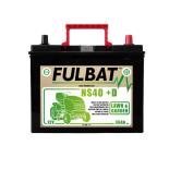 Batterie Fulbat NS40 (+D) CA/CA 12V 36 AH  (- / + ) NS40D  Bornes Japonnaises (sans entretien)