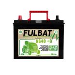 Batterie Fulbat NS40 (+G) CA/CA 12V 36 AH  (+ /-) NS40G  Bornes Japonnaises (sans entretien)