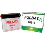 Batterie Moto Fulbat  51913 12V 19H 210A (avec entretien) (- / + ) + à droite