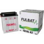 Batterie Fulbat motoculture 12N14-3A  12v 14Ah (- / + ) + à droite