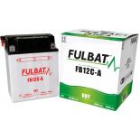 Batterie Fulbat moto FB12C-A 12V 12,6AH  (avec entretien)