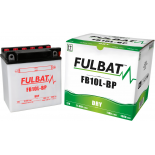 Batterie Fulbat moto FB10L-BP 12V 11,6AH  (avec entretien)
