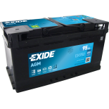 BATTERIE EXIDE AGM L5 12V 95AH 850A 353X175X190 +D EK950