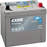 BATTERIE EXIDE PREMIUM D23 12V 65AH 580A 230X173X222 +D EA654