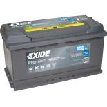 BATTERIE EXIDE PREMIUM L5 12V 100AH 900A 353X175X190 +D EA1000