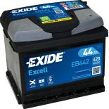 BATTERIE EXIDE EXCELL LB1 12V 44AH 420A 207X175X175 +D EB442