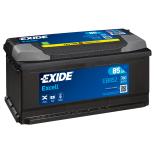 BATTERIE EXIDE EXCELL LB5 12V 85AH 760A 353X175X175 +D EB852