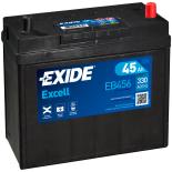 BATTERIE EXIDE EXCELL B24 12V 45AH 330A 237X127X227 +D EB456