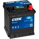 BATTERIE EXIDE EXCELL L0 12V 44AH 400A 175X175X190 +D EB440