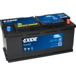 BATTERIE EXIDE EXCELL L6 12V 110AH 800A 392X175X190 +D EB1100