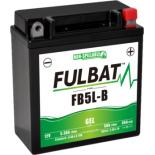 Batterie moto GEL  FB5L-B GEL /YB5L-B  FULBAT SLA Etanche  5,3AH 65 AMPS
