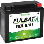 Batterie moto GEL  FB7L-B/B2  GEL /YB7L-B/B2   FULBAT SLA Etanche  8,4AH 100 AMPS