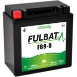 Batterie moto GEL  FB9-B GEL (12N9-4B-1) /YB9-B  (12N9-4B-1) FULBAT SLA Etanche  9.5AH 113 AMPS