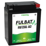 Batterie moto GEL  FB12AL-A2 GEL /YB12AL-A2  FULBAT SLA Etanche  12.6AH 150AMPS