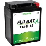 Batterie moto GEL  FB14L-A2 GEL (12N14-3A) /YB14L-A2   FULBAT SLA Etanche  14.7AH 175 AMPS