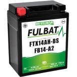 Batterie moto GEL  FB14-A2 GEL (12N14-4A) /YB14-A2   FULBAT SLA Etanche  14.7AH  175 AMPS