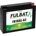Batterie moto GEL  FB16AL-A2 GEL /YB16AL-A2  FULBAT SLA Etanche  16,8AH  210 AMPS