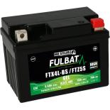 Batterie moto GEL  FTX5L-BS GEL /YTX5L-BS  FULBAT SLA Etanche  4.2AH