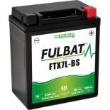 Batterie moto GEL  FTX7L-BS GEL /YTX7L-BS  FULBAT SLA Etanche  6.3AH