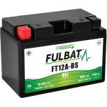 Batterie moto GEL  FT12A-BS GEL /YT12A-BS  FULBAT SLA Etanche  10,5AH