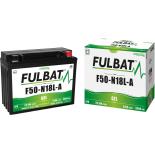 Batterie moto GEL  F50-N18L-A GEL (12N18-3A) /Y50-N18L-A FULBAT SLA Etanche  22,1AH