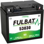 Batterie moto GEL  53030 GEL (F60-N30L-A) /53030  (Y60-N30L-A) FULBAT SLA Etanche  31.6AH