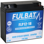 Batterie Fulbat LIFEPO4  Cyclique FLP12-18 (T3)