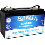 Batterie Fulbat LIFEPO4  Cyclique FLP12-100 (T11)