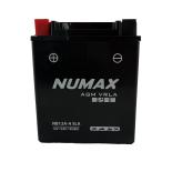 Batterie  Numax AGM SLA scellée  YB12A-A SLA 12 V 12 AH 135 AMPS EN