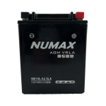 Batterie  Numax AGM SLA scellée  YB14L-A2 SLA 12 V 14 AH 210 AMPS EN