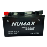 Batterie  Numax AGM SLA scellée  YTX7A-BS SLA 12 V 6 AH 100 AMPS EN