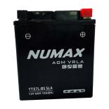 Batterie  Numax AGM SLA scellée  YTX7L-BS SLA 12 V 6 AH 100 AMPS EN