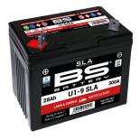 Batterie  BS  AGM SLA Motoculture U1-9 12V 28AH 300 AMPS +G