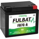 Batterie Fulbat GEL SLA FB7C-A GEL 12V 8AH 85 AMPS  129x89x114  + Droite