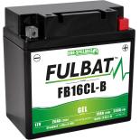 Batterie Fulbat GEL SLA FB16CL-B GEL 12V 19AH 240 AMPS  175x100x175  + Droite