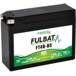 Batterie Fulbat GEL SLA FT4B-BS GEL 12V 2.3AH 40 AMPS  113x38x85