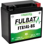 Batterie Fulbat GEL SLA FTX14L-BS GEL 12V 12AH 200 AMPS  150x87x145  + Droite