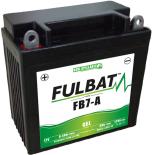 Batterie Fulbat GEL SLA FB7-A GEL 12V 8AH 100 AMPS  135x75x133  + Gauche