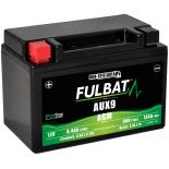 batterie auxilliaire Fulbat AUX9 12V 8,4Ah 135A plus à gauche