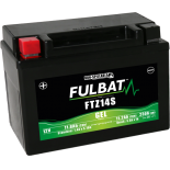 Batterie moto YTZ14S étanche AGM 12V / 11.2Ah
