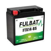 Batterie moto WP14BS / YTX14-BS / BTX14  étanche au gel 12V / 12Ah
