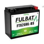 Batterie moto WPX20LBS / YTX20L-BS étanche au gel 12V / 18Ah