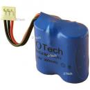Batterie de téléphone Ni-Cd 2.4V 300mAh 2x2 / 3AA avec JST-PHR3