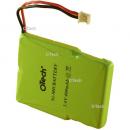 Batterie de téléphone Ni-MH 3.6V 400mAh 3xHF / 17 / 06 / 33 avec JST-ZHR2 (REV)