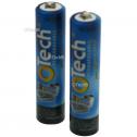2 batteries de téléphone Otech AAA NI-MH 1,2V 750mAh
