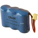 Batterie de téléphone Ni-Cd 3.6V 300mAh 3x1 / 2AA avec JST-PHR2 (Reverse)