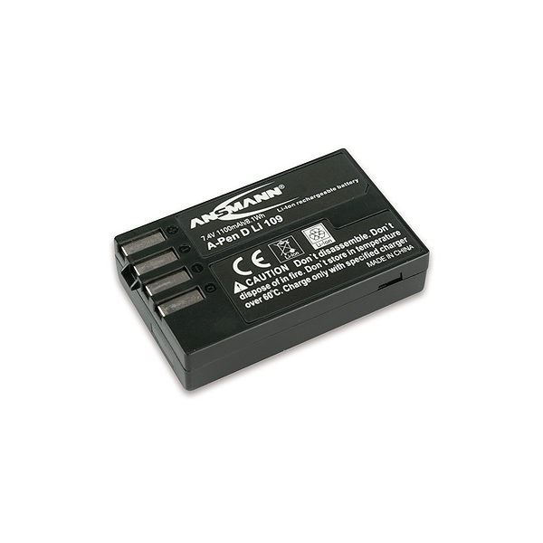Batterie de camescope type Pentax D-LI109 Li-ion 7.4V 1100mAh