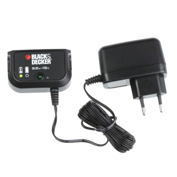 Chargeur d'origine pour batteries de type Black&Decker coulissantes type A12, A12E, A14, A14E, A18 et A18E - 0,8A - 9,6V - 24V / Ni-Cd