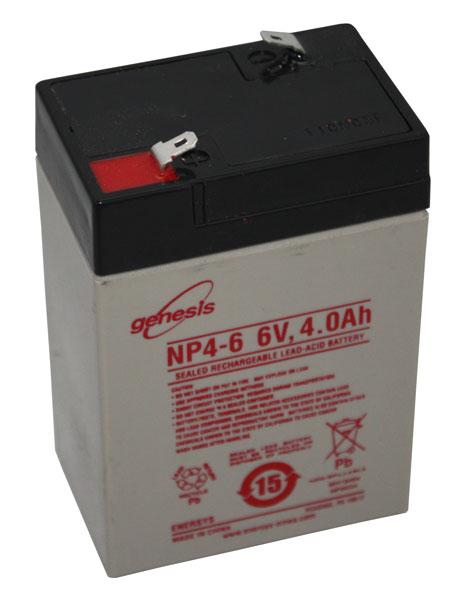 Plomb AGM Gel Batterie 6 V 4ah 20hr Bleiakku Onduleur Pile Batterie zyklenfest 2 morceaux