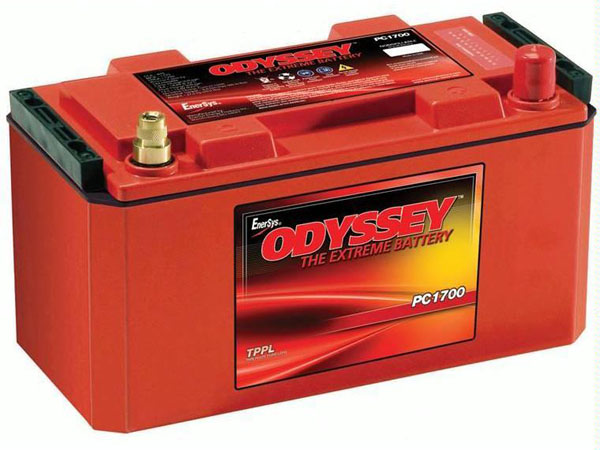 Batterie plomb pur Odyssey 12V PC1700